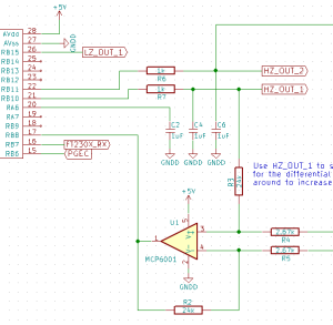 PWM output schematic