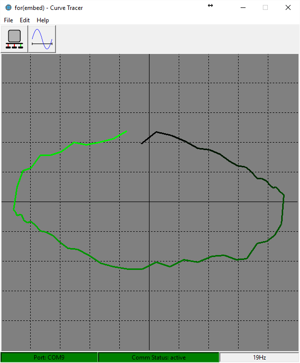 Curve tracer screenshot 2