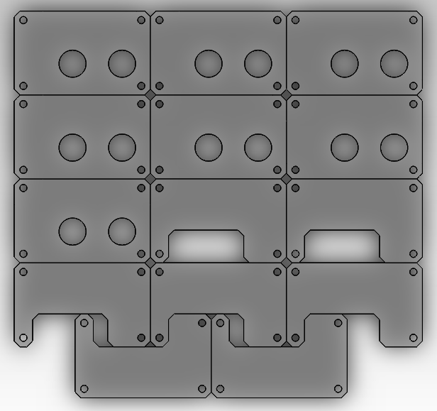 case array layout